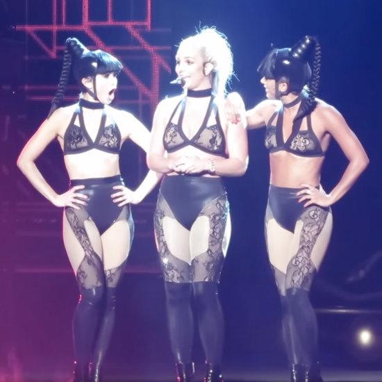 Britney Spears Tells Men to Suck Her Toe   Video