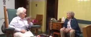 101- and 96-Year-Old Sisters Can't Stop Arguing, and It's Hilarious