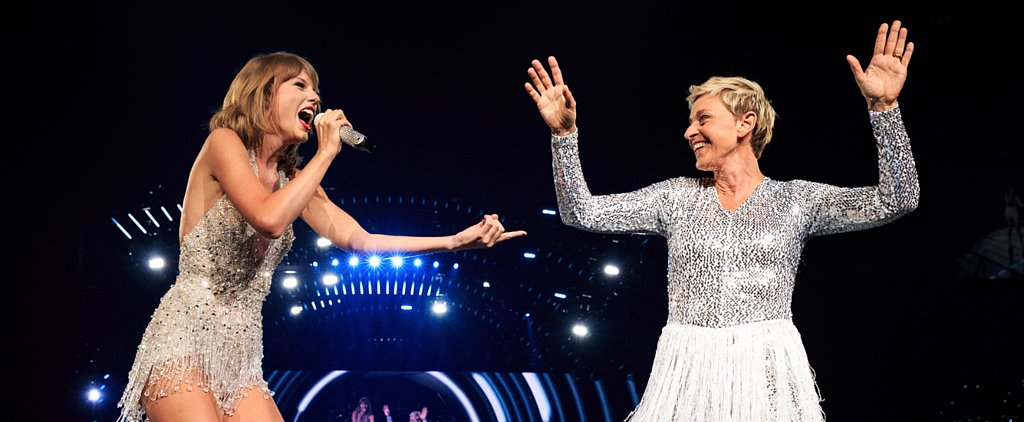 Ellen DeGeneres Completely Nailed Taylor Swift's Concert Look