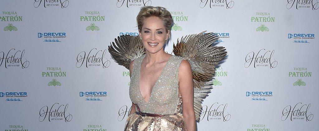It's a Bird! It's a Plane! It's Sharon Stone!