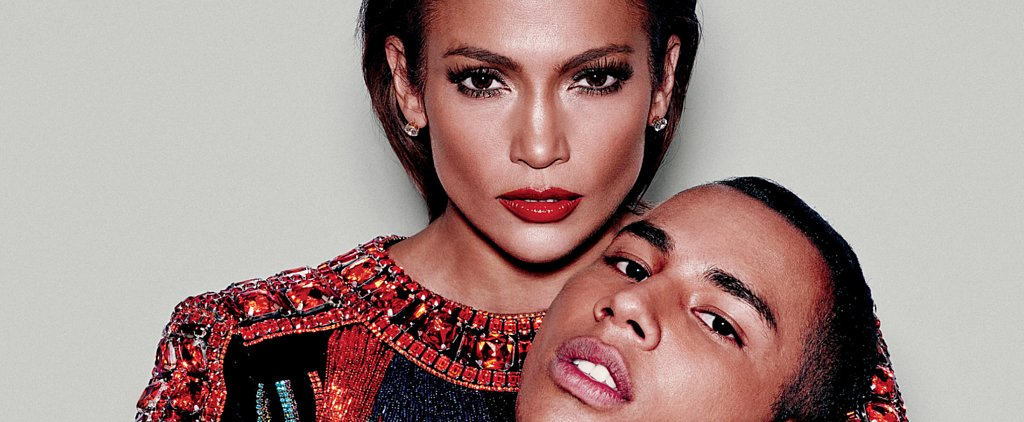 J Lo and Olivier Rousteing Are So Fierce on the Cover of PAPER Magazine