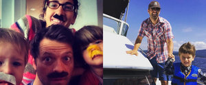 Supernatural Star Misha Collins Has Such an Adorable Family