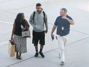 Train Hero Anthony Sadler Returns Home to California as Suspect Faces Terrorism Charges