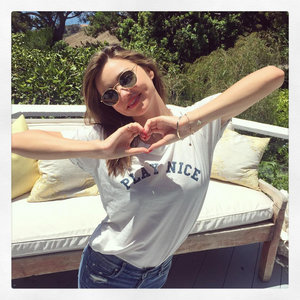 Miranda Kerr Racy Reebok Photo on Instagram