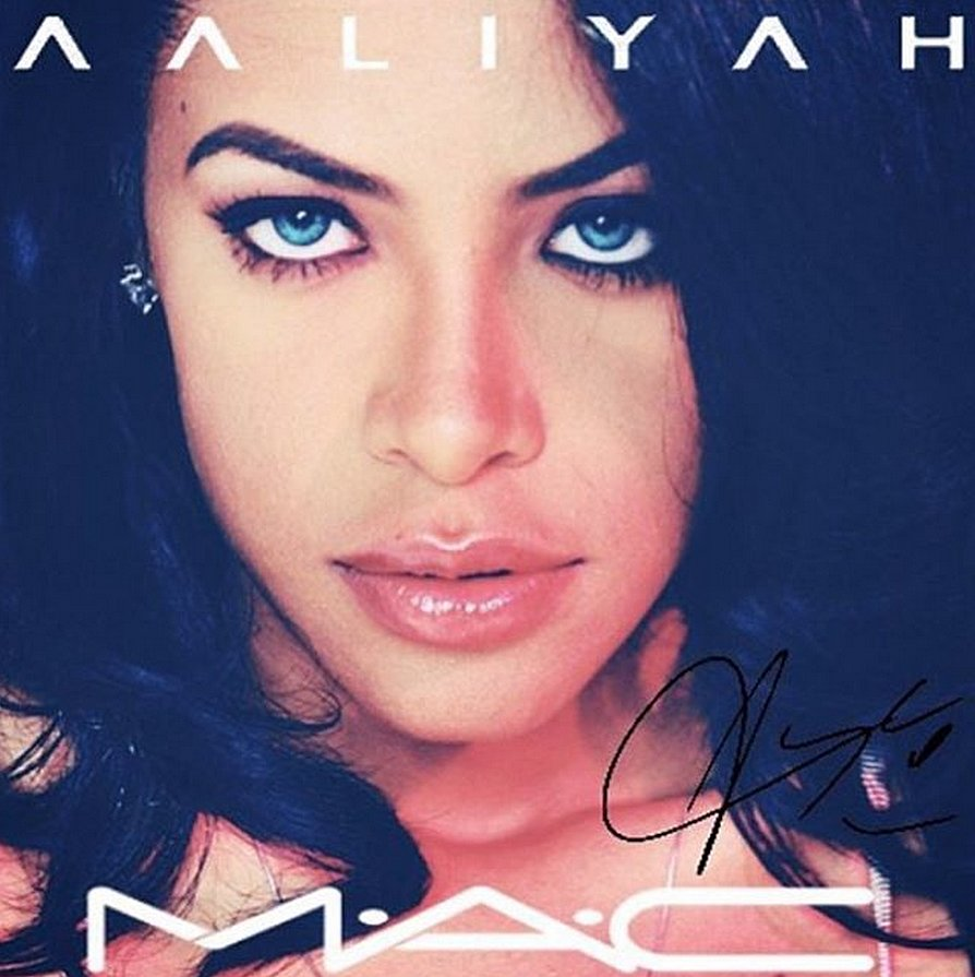 Aaliyah Fans Are Petitioning For A Mac Collection In Her