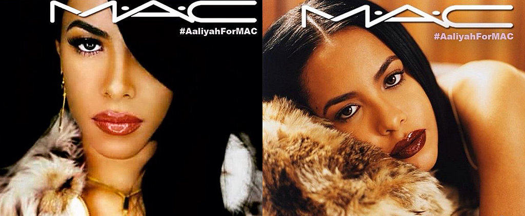 Aaliyah Fans Are Petitioning For a Mac Cosmetics Collection in Her Memory