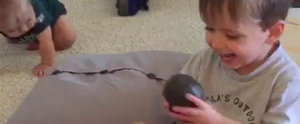 Dad Tests His Son's Manners With a Truly Terrible Present