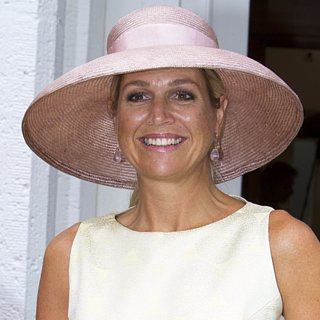 Queen Maxima Wears Pastels