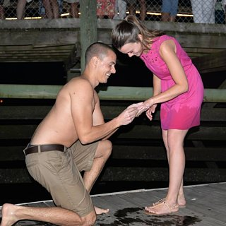 Guy Drops Engagement Ring in the Ocean