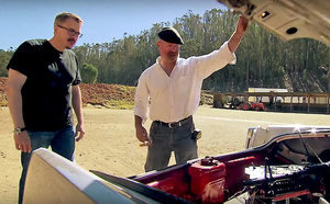 FROM EW: Mythbusters tests Breaking Bad finale trunk machine gun scene (with a little help from Vince Gilligan)