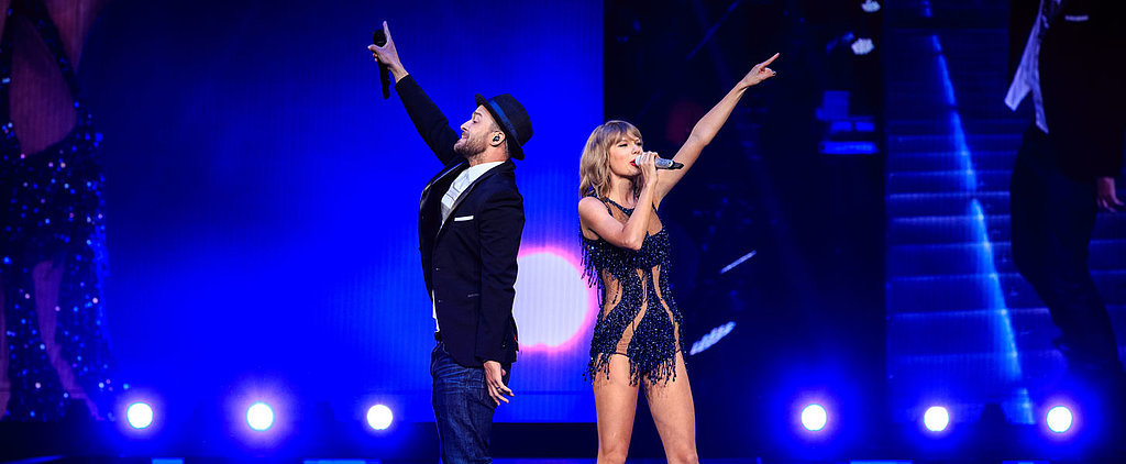 Justin Timberlake Hits the Stage With Taylor Swift, Effortlessly Brings Sexy Back