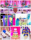Throw a Magical Frozen Coronation Themed Party For Your Princess