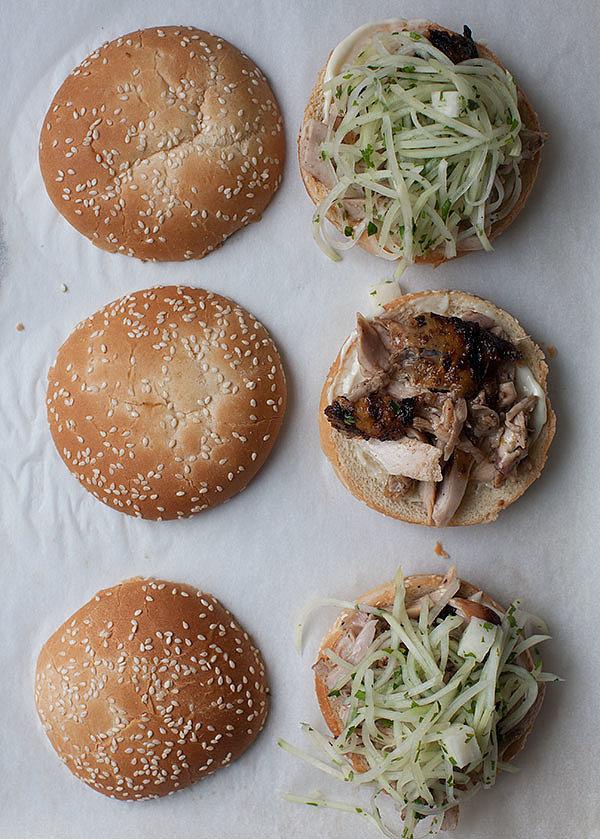 Chicken sandwich recipes popsugar food for Cama sandwich