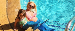 Britney Spears Dresses Up as a Mermaid to Swim in Her Pool Because She's That Damn Magical