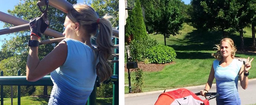Meet Carrie Underwood's New Workout Partner: Son Isaiah!