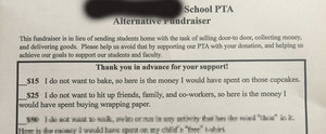 This May Be the Best PTA Fundraising Letter We've Ever Seen