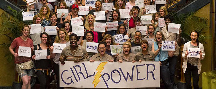 "See Melissa McCarthy's Inspiring ""Girl Power"" Photo From the Ghostbusters Set"