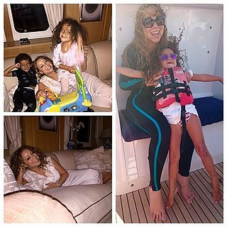 Mariah Carey Posts Pictures of Her Twins on Vacation