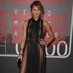 Chrissy Teigen's Dress at VMAs 2015