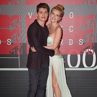Bella Thorne and Gregg Sulkin at 2015 MTV VMAs