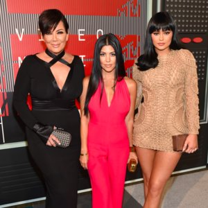 Kylie Jenner and Kourtney Kardashian Dress at VMAs 2015