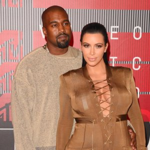 Kim Kardashian and Kanye West VMAs Red Carpet Style