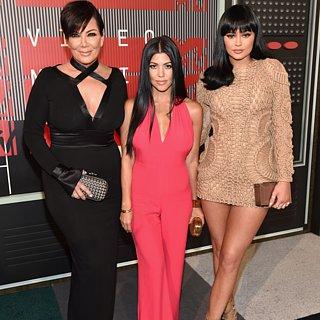 Famille Kardashian sur le Tapis Rouge des MTV VMAs 2015