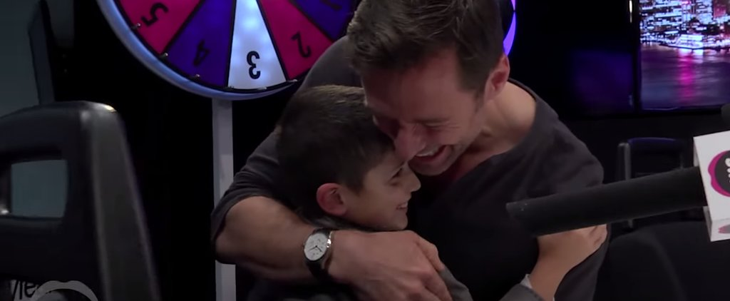 Hugh Jackman Surprised a Pint-Size Fan With Cystic Fibrosis, and It Will Make You Emotional