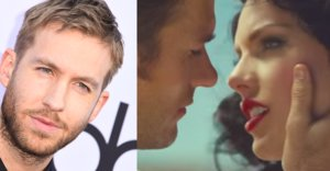 "So Calvin Harris Was Actually In Taylor's ""Wildest Dreams"" Video"