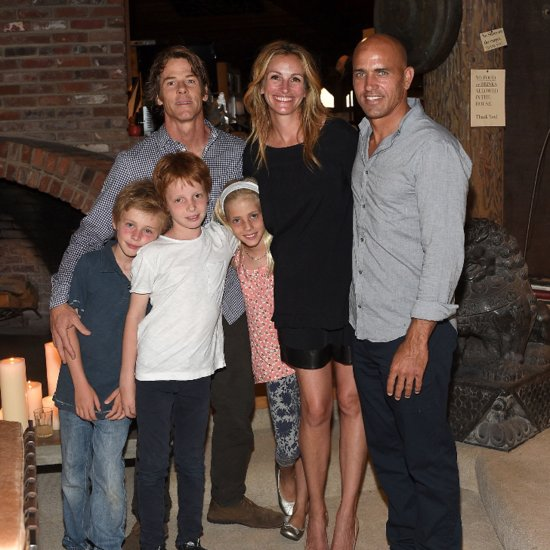 Julia Roberts and Her Family at Outerknown Launch