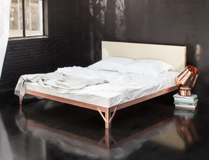 The New Metallics: Beds by Piet Hein Eek