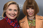 Hillary Clinton Is Winning the Fashion Schmoozing Race