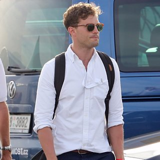 Jamie Dornan in Prague Pictures August 2015