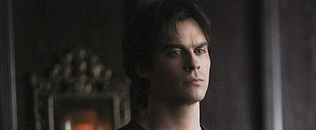 Check Out Damon in This Never-Before-Seen Vampire Diaries Deleted Scene