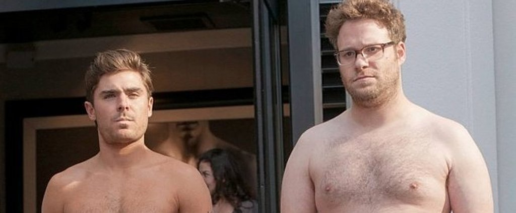 Here's How You Can Get a Shirtless Selfie With Zac Efron and Seth Rogen