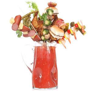 Extreme Bloody Mary Garnishes