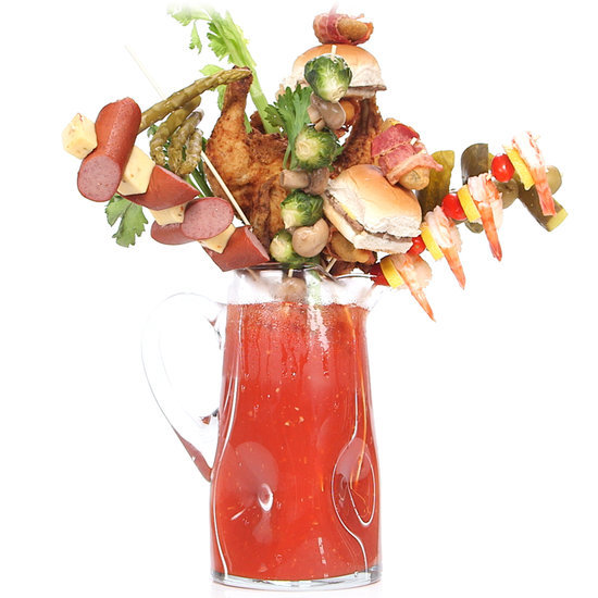 Extreme Bloody Mary Garnishes