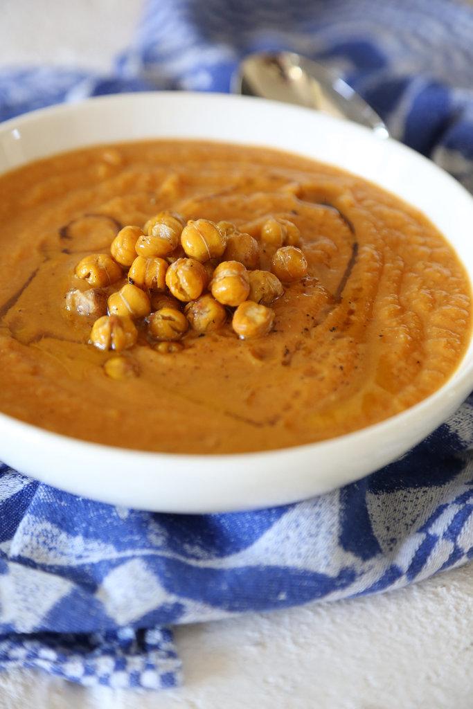 Vegan Pumpkin Chickpea Soup