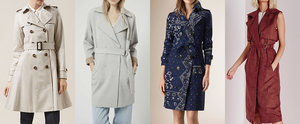Nab Your Favourite Trench Coat Before It Sells Out