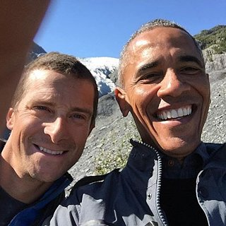 President Barack Obama Selfie With Bear Grylls