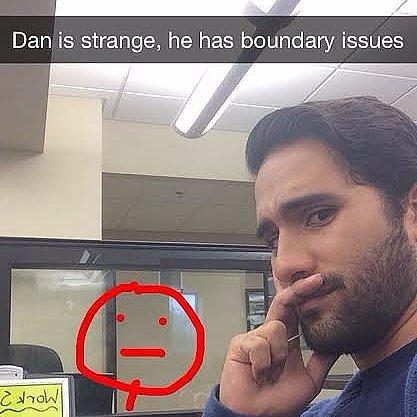 Funny Office Snapchats