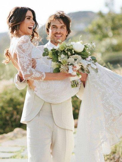 You Have to See Nikki Reed's Gorgeous Wedding Photos