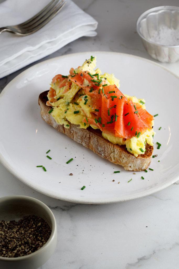 Scrambled eggs recipes popsugar food for Fish eggs food
