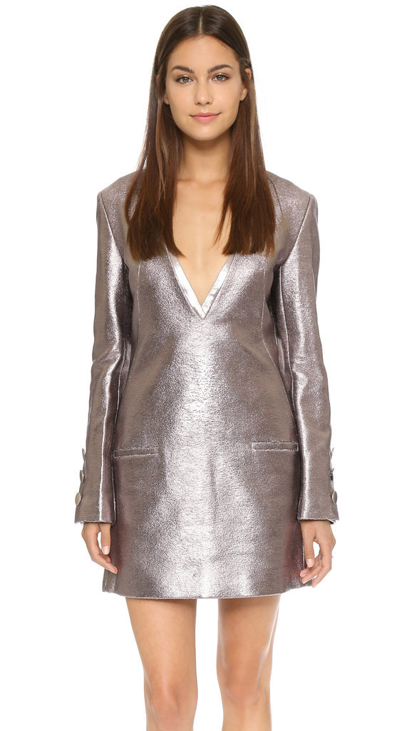 Misha Nonoo Valerie Metallic Dress ($598)
