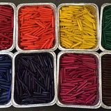 What 1 Dad Did With Mounds of Unwanted Crayons Will Warm Your Heart