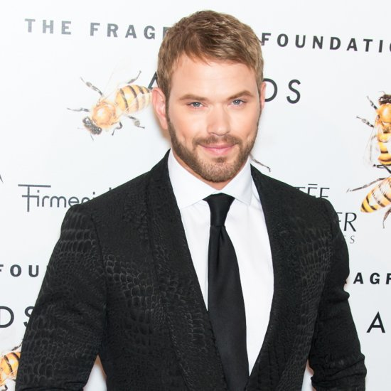 Kellan Lutz Finds Time to Work Out Even on a Cliff in Sydney