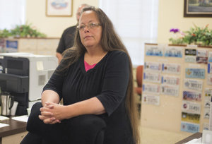 Kentucky Clerk Kim Davis Has Been Taken Into Custody, Will Remain There Until She Agrees To Issue Same-Sex Marriage Licenses
