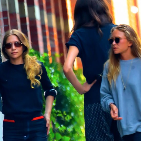 Mary-Kate and Ashley Olsen Wearing Jeans