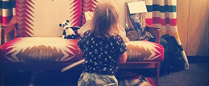 Olivia Wilde Shares the Sweetest Snap of Little Otis Cheering On Jason Sudeikis