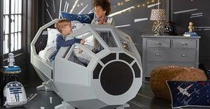 Pottery Barn Sells Millennium Falcon 'Star Wars' Bed, Nails #ForceFriday